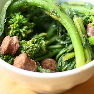 Broccoli Rabe and Lamb Sausage