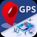 GPS Navigation, Village Map,Traffic Direction icon