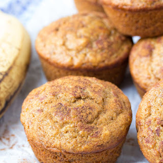 One Bowl Cinnamon Banana Muffins (Whole Wheat + Healthy) Recipe