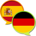 Spanish German Dictionary Free icon
