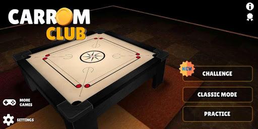 Carrom Club 3D FREE ( CARROM BOARD GAME ) 2.1.9 screenshots 1