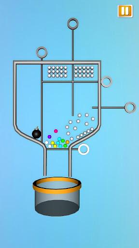 Classic Pin Pull Puzzle 3D Ball Bucket Drop 1.0 screenshots 1