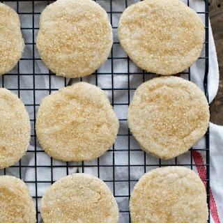 Sugared Shortbread Cookies