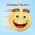 Animated Moving Stickers WAStickerApps icon