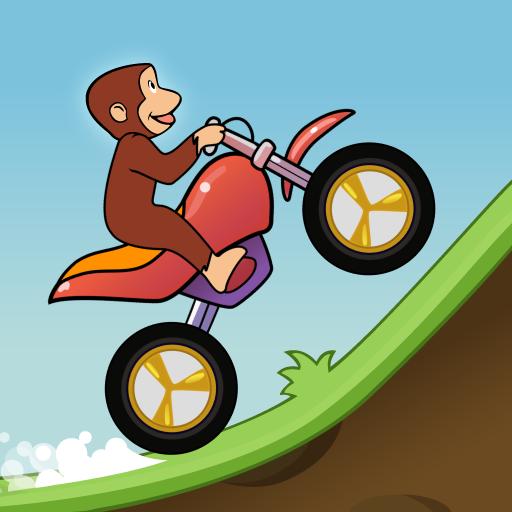 Curious Racing Monkey