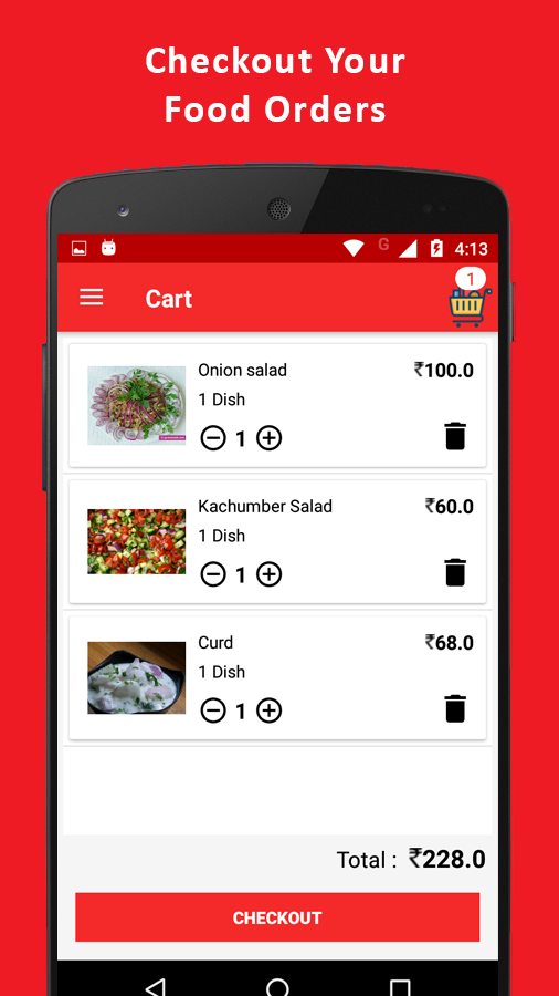 Food Zone-Online Food Order System- screenshot