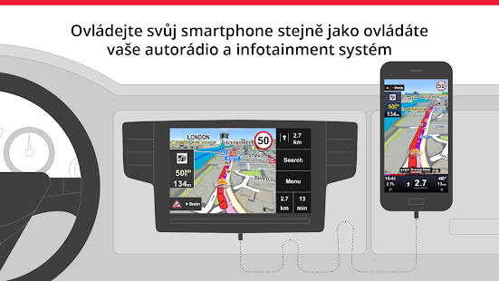 Sygic Car Navigation - náhled