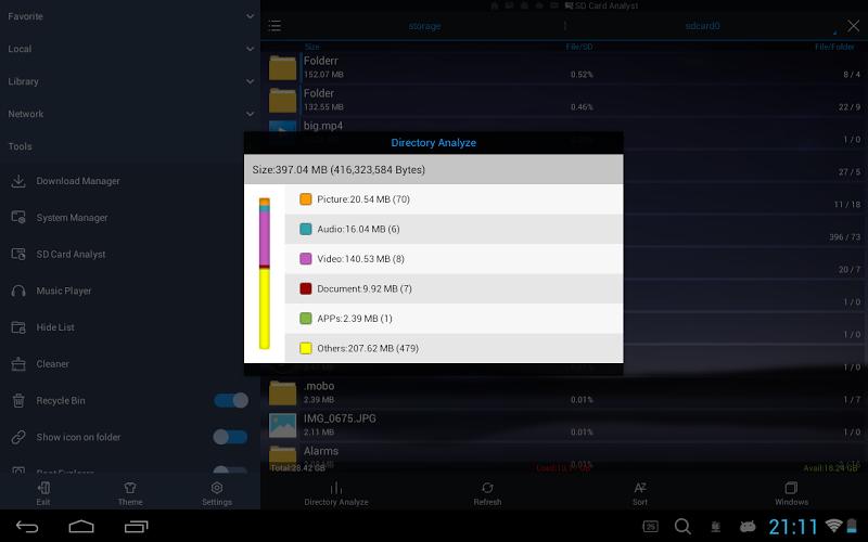 ES File Explorer/Manager PRO Screenshot 11