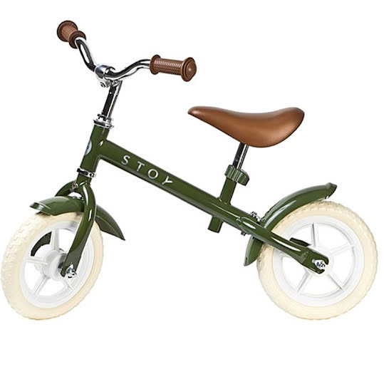 """Stoy Springcykel Vintage Army Green 10"""""""