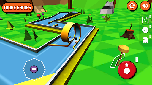 Mini Golf: Retro Screenshot