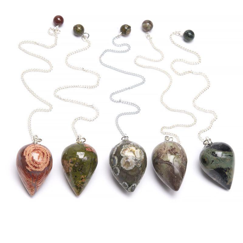 Pendel, flera konformade kristaller