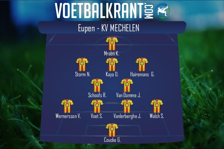 KV Mechelen (Eupen - KV Mechelen)