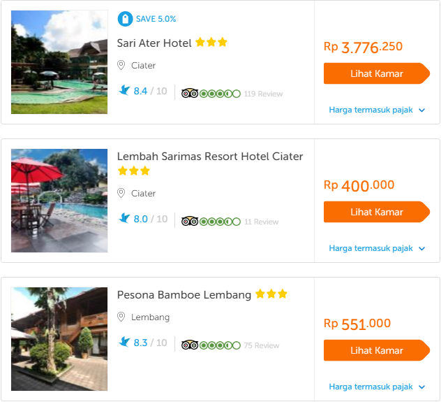 5 kiat Booking hotel via Travel online