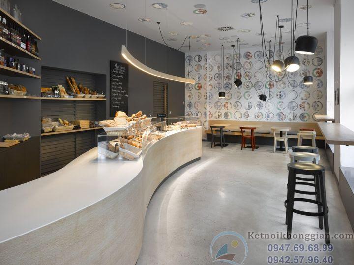 Thiết kế cửa hàng bánh chuyên nghiệp