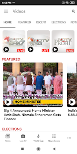 App NDTV News - India APK for Windows Phone