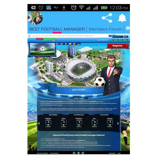 Best Football Manager Goaltycoon