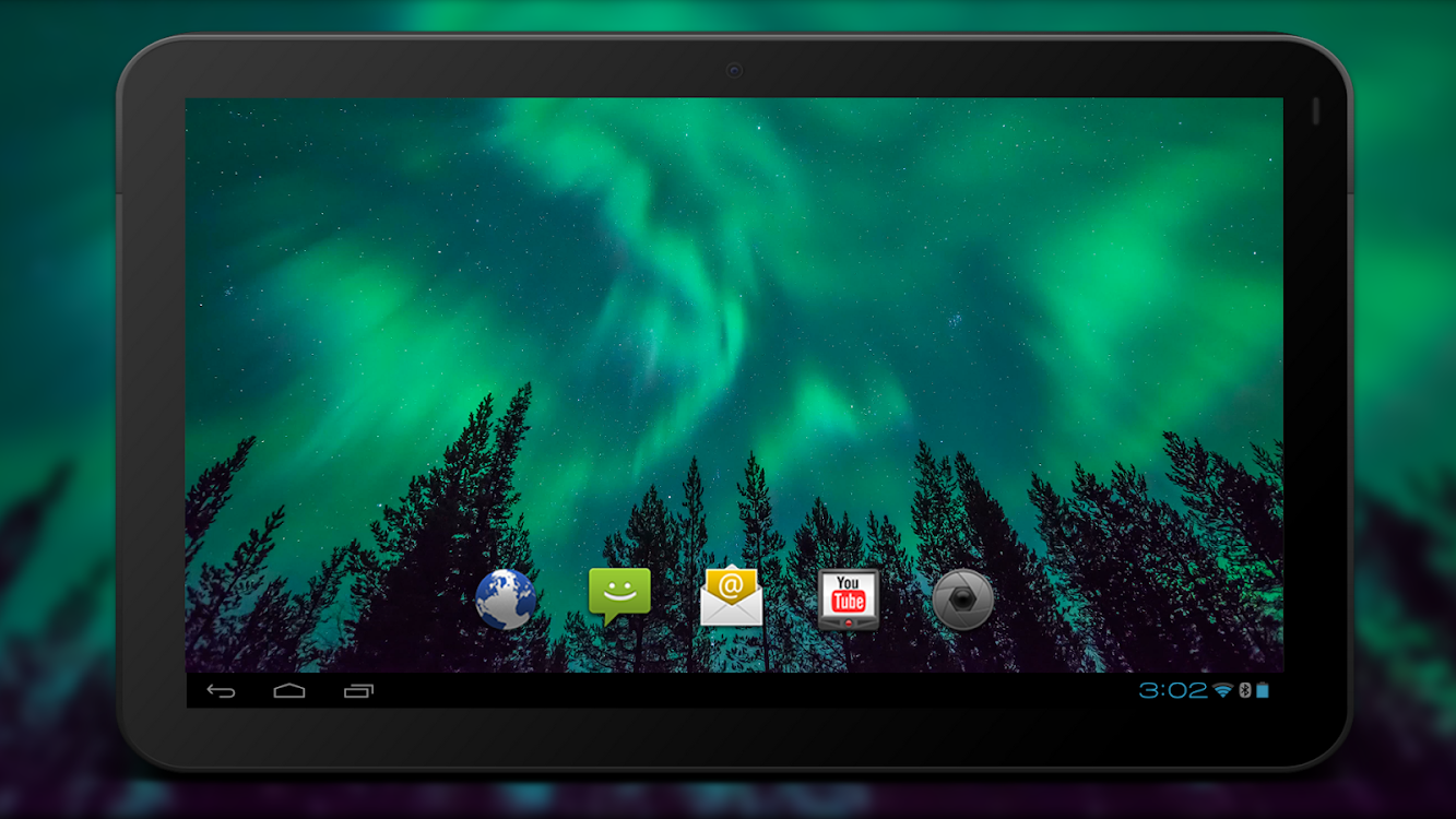4k Northern Light Aurora Video Live Wallpaper Android