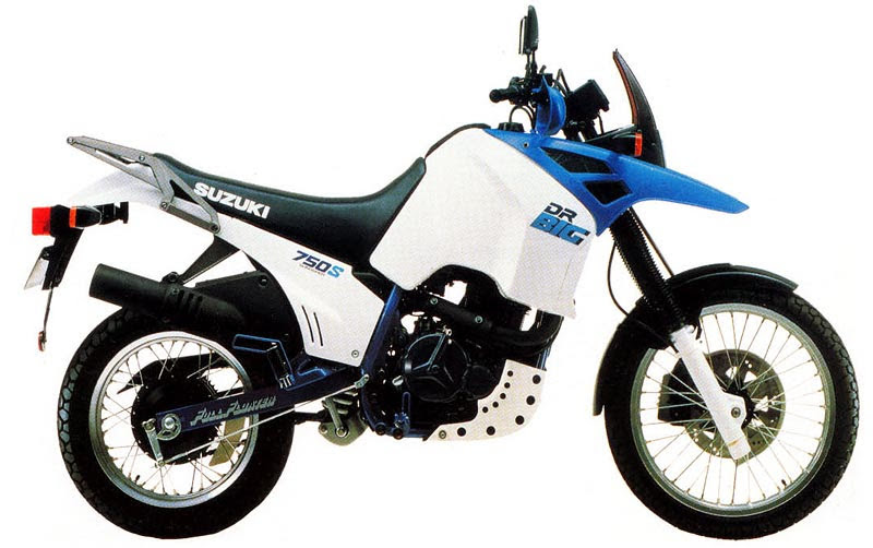 suzuki DR 750-manual-taller-despiece-mecanica