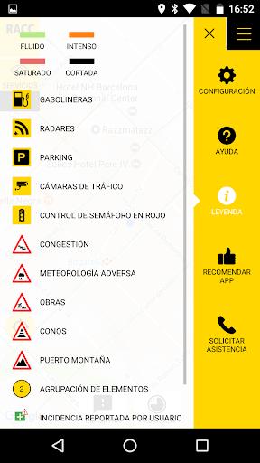 RACC Infotransit screenshot 7