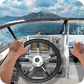Drive Boat 3D Sea Crimea