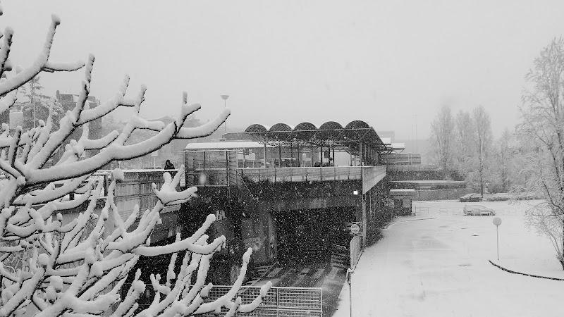 nevica alla metro di Roma di lelia_gagliano