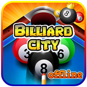 Billiard City Offline 1.2.4 by Safin Studio Game logo