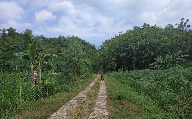 Perjalanan menuju pantai Watu lumbung
