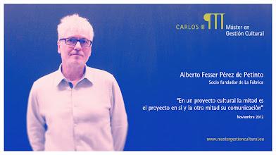 Photo: Alberto Fesser Pérez de Petinto - Conferencia: Plan Estratégico @la_fabrica