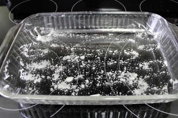 Grease one 13x9x2-inch baking pan. Set pan a side.