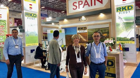 Tecnova busca nuevas oportunidades en la Feria Internacional de Invernaderos