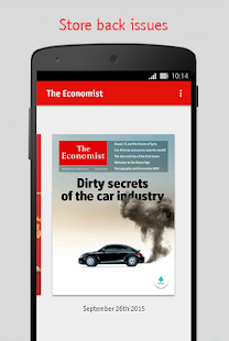 The Economist- screenshot thumbnail