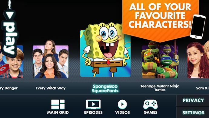 Nickelodeon Play- screenshot