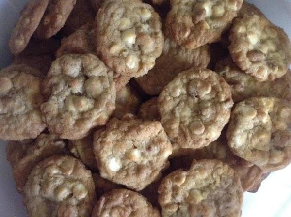 White Chocolate Island Cookies Recipe