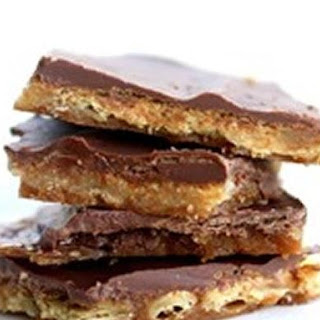Saltine Cracker Toffee