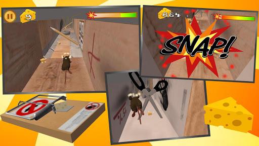 Snappy Mouse Run - Dizzy Running apktram screenshots 5