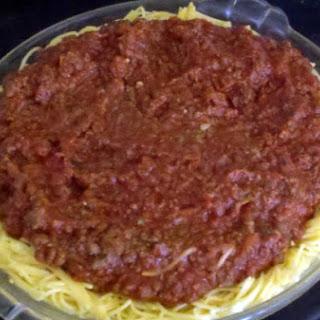 The Farming Wife's Spaghetti Pie.