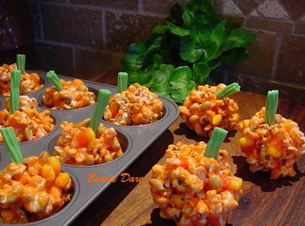 Popcorn Pumpkins For Halloween Recipe