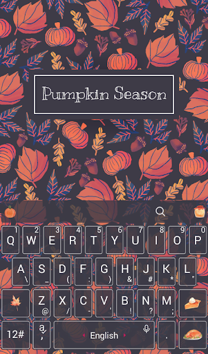 免費下載個人化APP|Pumpkin Season Keyboard Theme app開箱文|APP開箱王