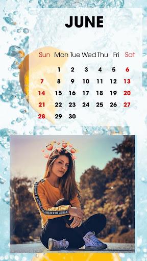 Calendar Photo Frames 2020 screenshot 4