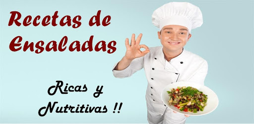 Recetas de Ensaladas app (apk) free download for Android/PC/Windows screenshot