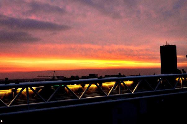 Flash da tramonto di lana