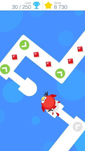 Tap Tap Dash - Crazy Bird Dash android2mod screenshots 1