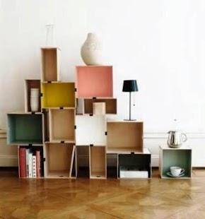 storage shelves - náhled