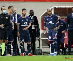 📷 Messi mécontent après sa sortie contre l'OL
