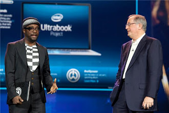 Photo: Will.i.am at Intel's press event - Photo by James Martin