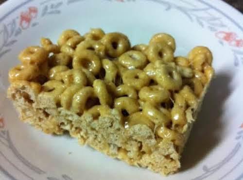 "Cheerios Treats ""Made this easy treat yesterday. None left today. I had..."