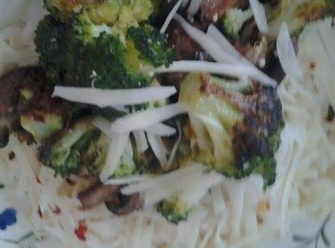 Roasted Broccoli And Mushrooms Recipe