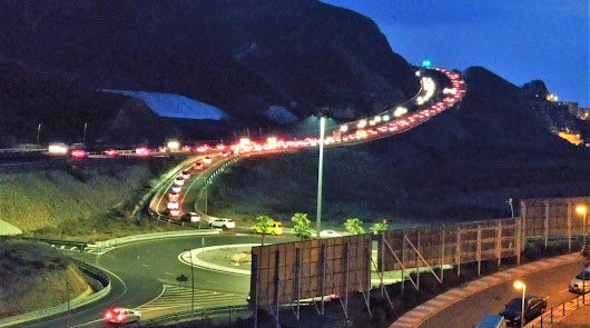 El Cañarete: Tráfico restringirá el tráfico de camiones una hora en la A-7