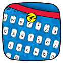 Dore Meow Blue  Cat keyboard icon