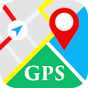 GPS Maps Live Navigation & Route Weather Info icon